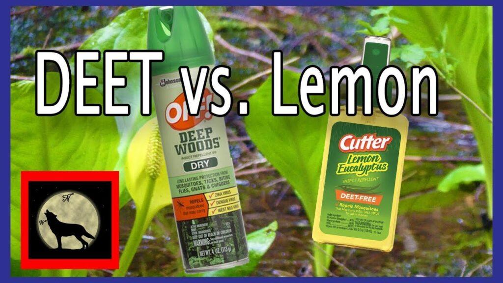 Best Mosquito Repellent – Actual in the field Battle Off with DEET vs. Cutter's Lemon Eucalyptus