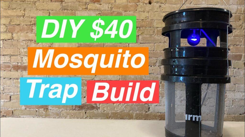 DIY 5 Gallon Pail Mosquito Trap Build