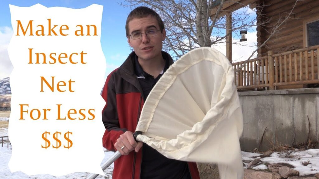 DIY Insect Sweep Net for Less Money