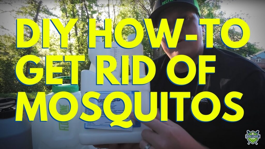 DIY Mosquito Control – How to get rid of Mosquitos!