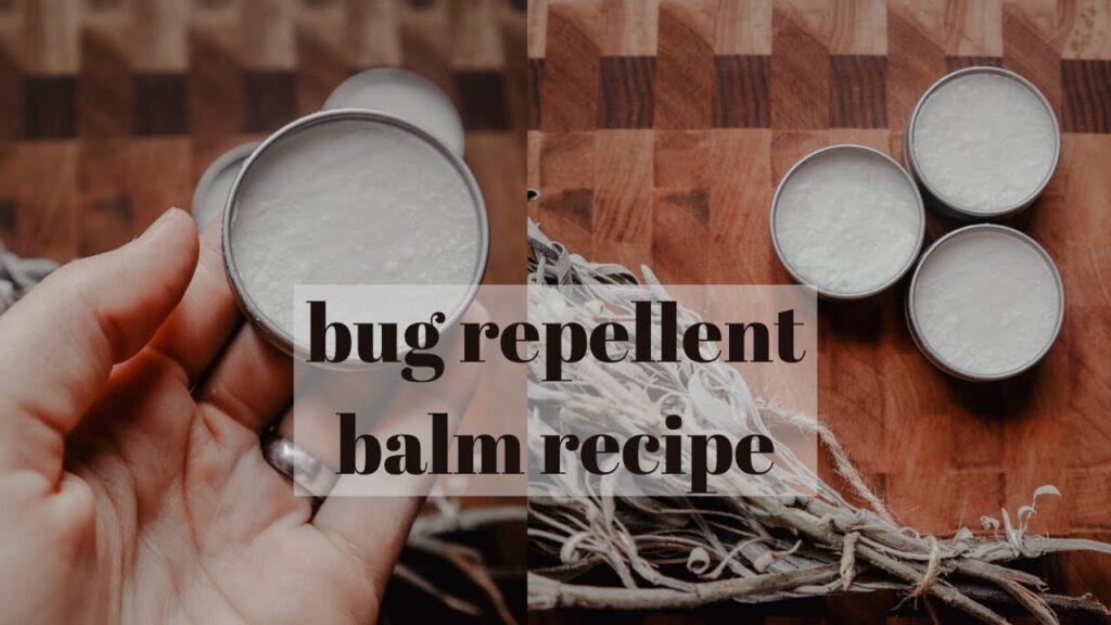 EFFECTIVE BUG REPELLENT BALM RECIPE