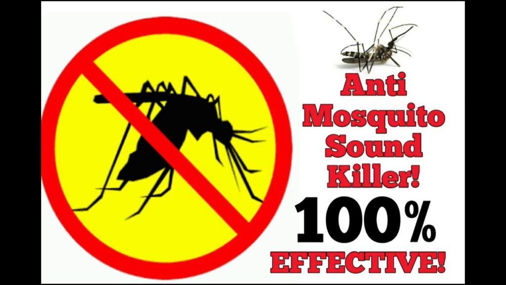 FREE anti Mosquito sound 100% EFFECTIVE