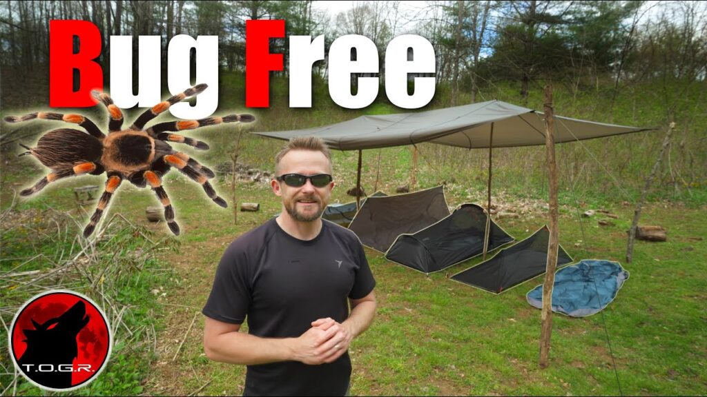 How to Stay Bug Free With a Tarp – Shelter Options Addons