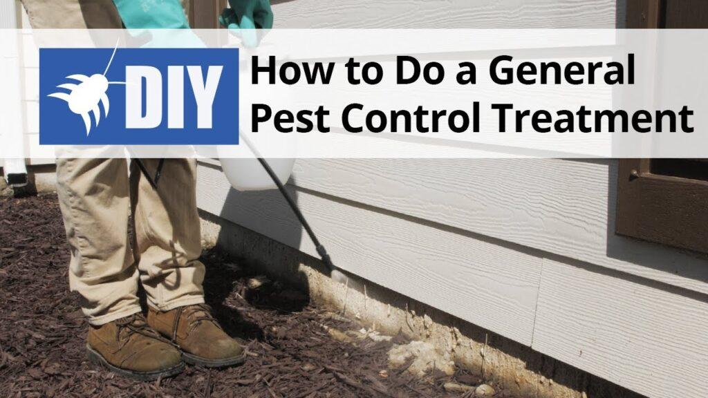 How to do a General Pest Control Treatment – DIY Pest Control | DoMyOwn.com