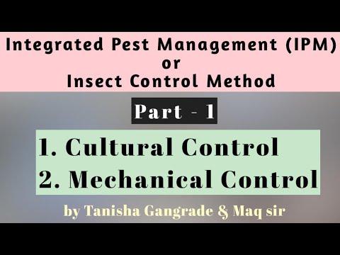 Integrated Pest Management | Part – 1 | IPM | Cultural Control method | Mechanical Control Method