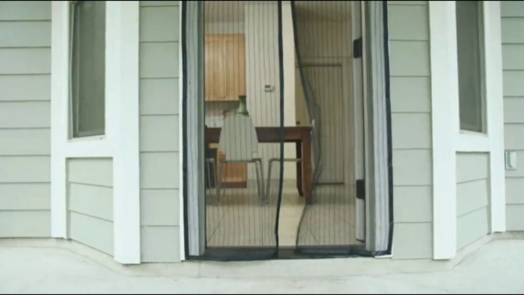 Magnetic Mosquito Net Curtain video