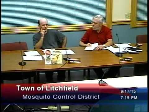 Mosquito Control District Meeting – Sept 17, 2015