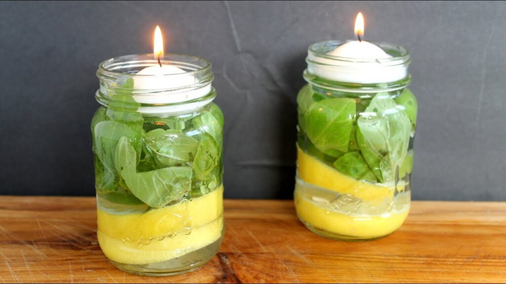 Mosquito Repellent Candle – make your own!