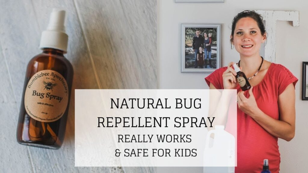 Natural Bug Repellent | REALLY WORKS & SAFE FOR KIDS | Bumblebee Apothecary