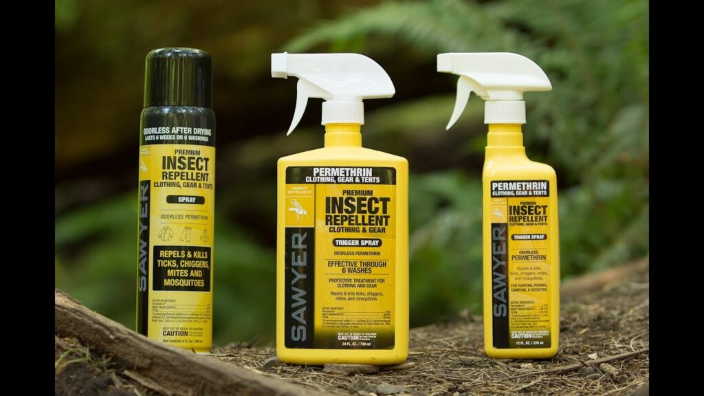 Sawyer Permethrin Clothing and Gear Insect Repellent Treatment