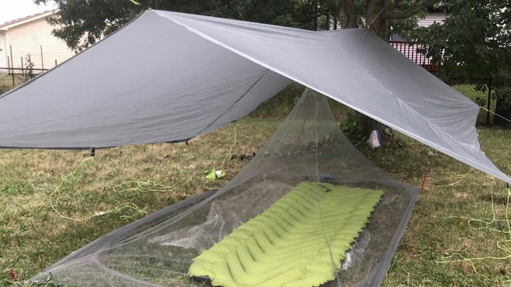 Tarp & Mosquito Net Setup