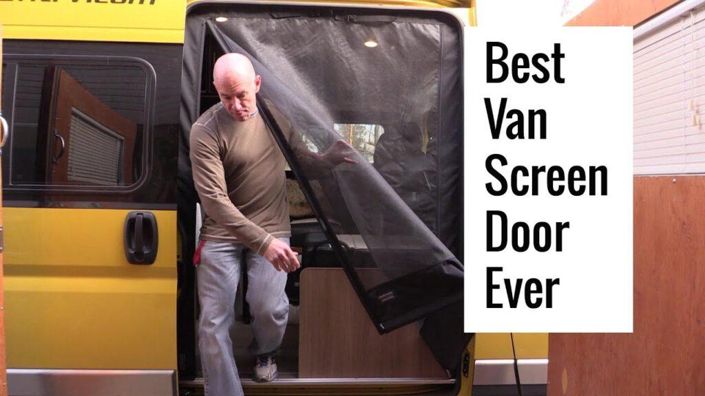 The Best Van Screen Door Ever