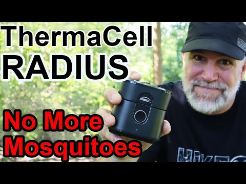 ThermaCell Radius NEW Gen 2.0 TEST Battery Powered Mosquito Repellent