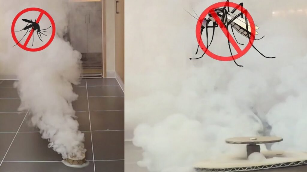 how to make Anti-mosquito smoke bomb – The best way to eliminate mosquitoes