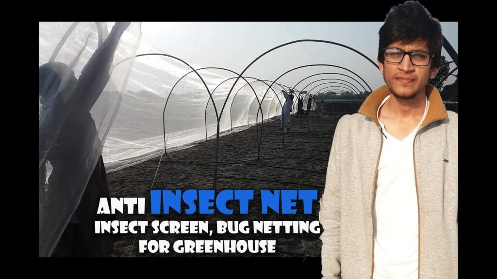 sewing process of anti insect netting |bug netting |insect screen